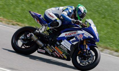 Marvin Fritz kommt als Spitzenreiter zum Motorradfinale nach Hockenheim
