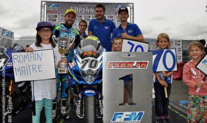 Romain Maitre startet für Schnock Kawasaki in der IDM Superbike