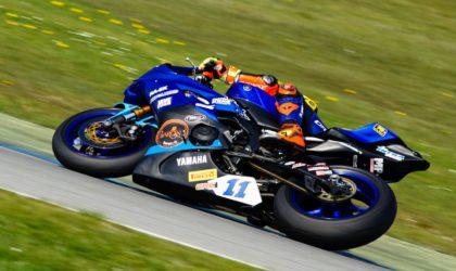 Motorradrennsport: Man spricht deutsch im Fahrerlager