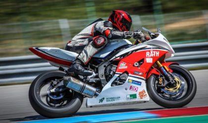 Rennfahrer Daniel Heinze erzielt ersten Saisonsieg in Brünn