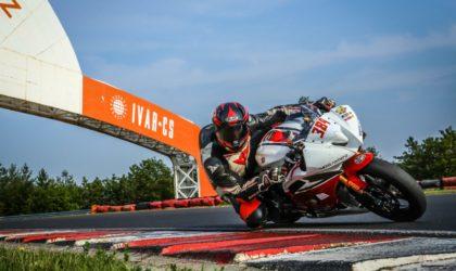 Kein Glück für Motorradpilot Daniel Heinze auf dem Autodrom Most