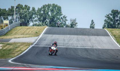 Daniel Heinze sichert sich wichtige Punkte  am Slovakiaring